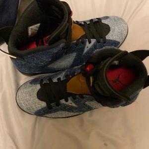 Jordan 6 washed deniem